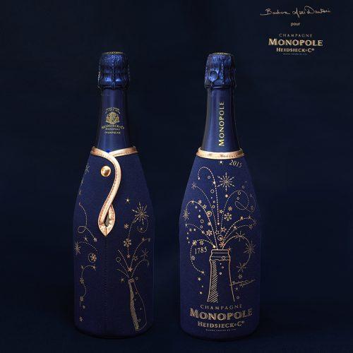 Champagne Monopole x BADantoni