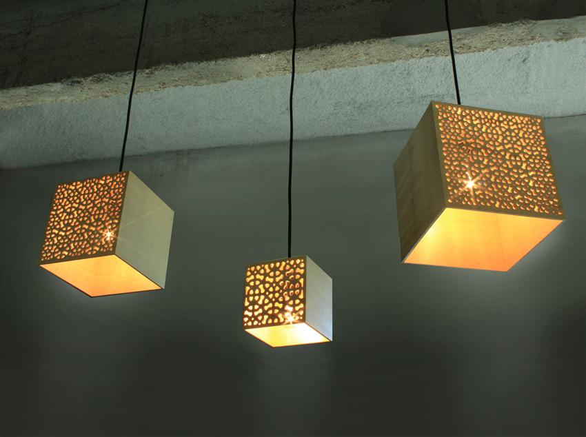 Lampes Trio