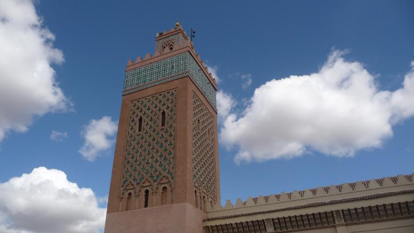 Au centre de Marrakech