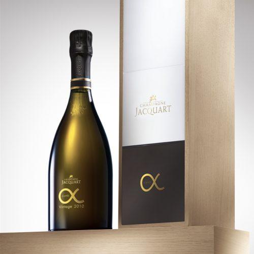 Coffret Alpha Vintage Champagne Jacquart
