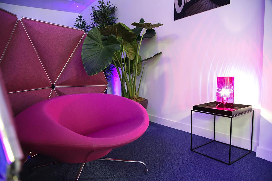 Scénographie Tétris Design Hub