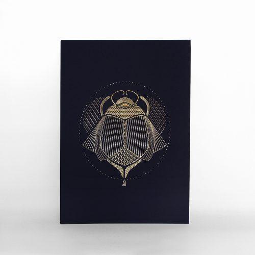 Carte Scarabée