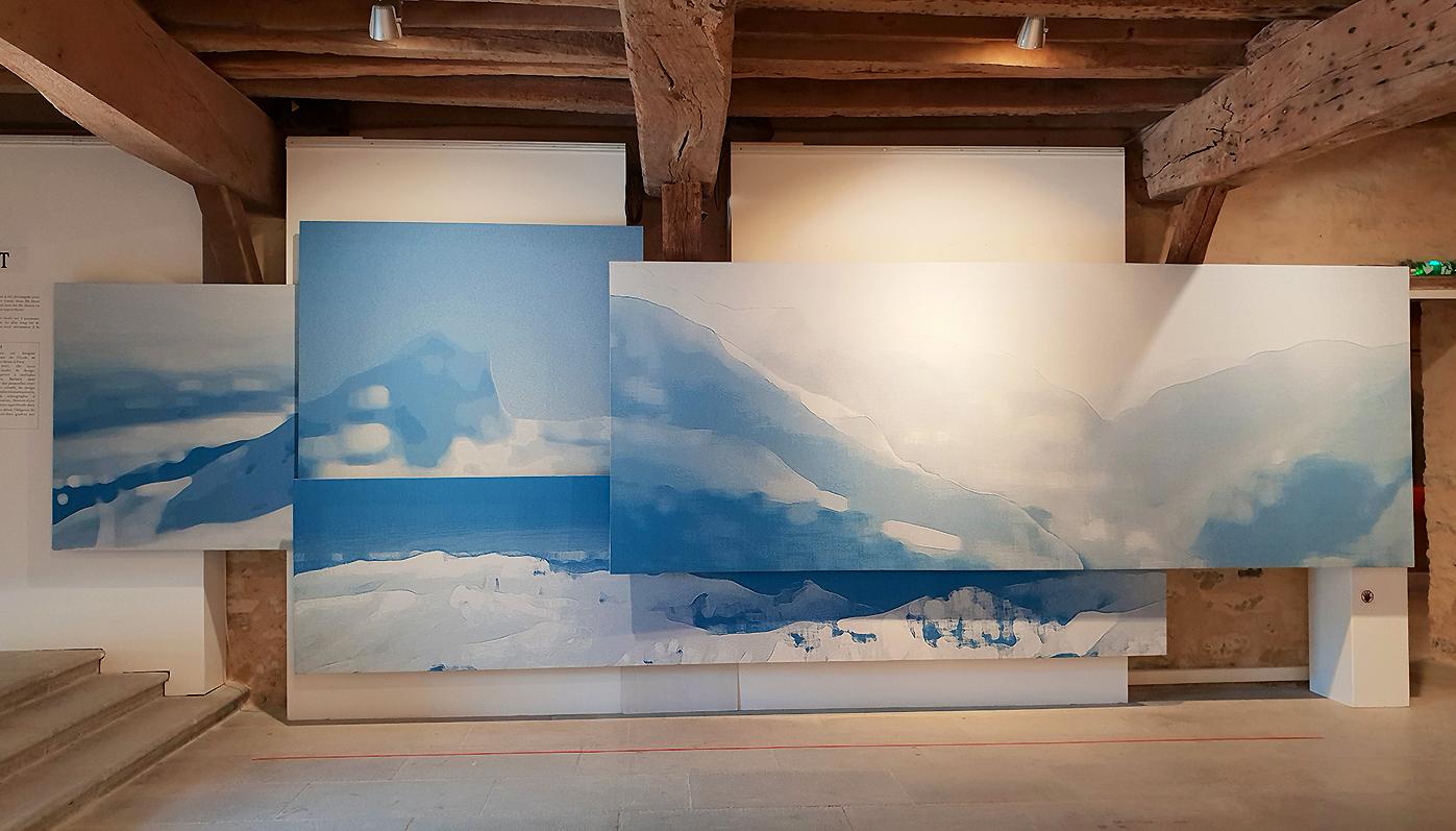Blue Landscape - Barbara Asei Dantoni