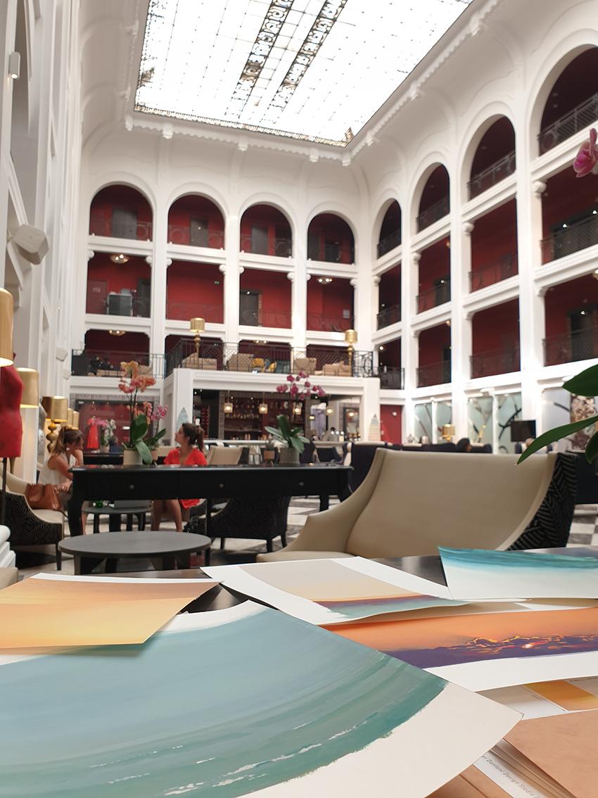 Dessins Regina Hotel