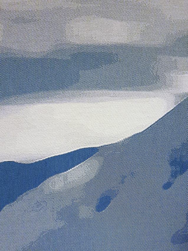 Blue Landscape - Détail